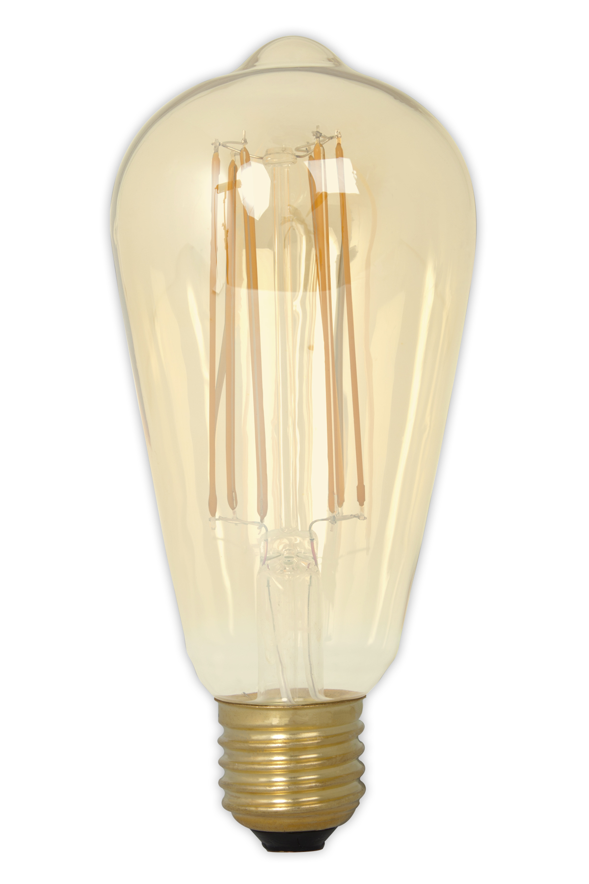 Rustikalamp LED filament goud 4,0W (vervangt 40W) grote fitting E27