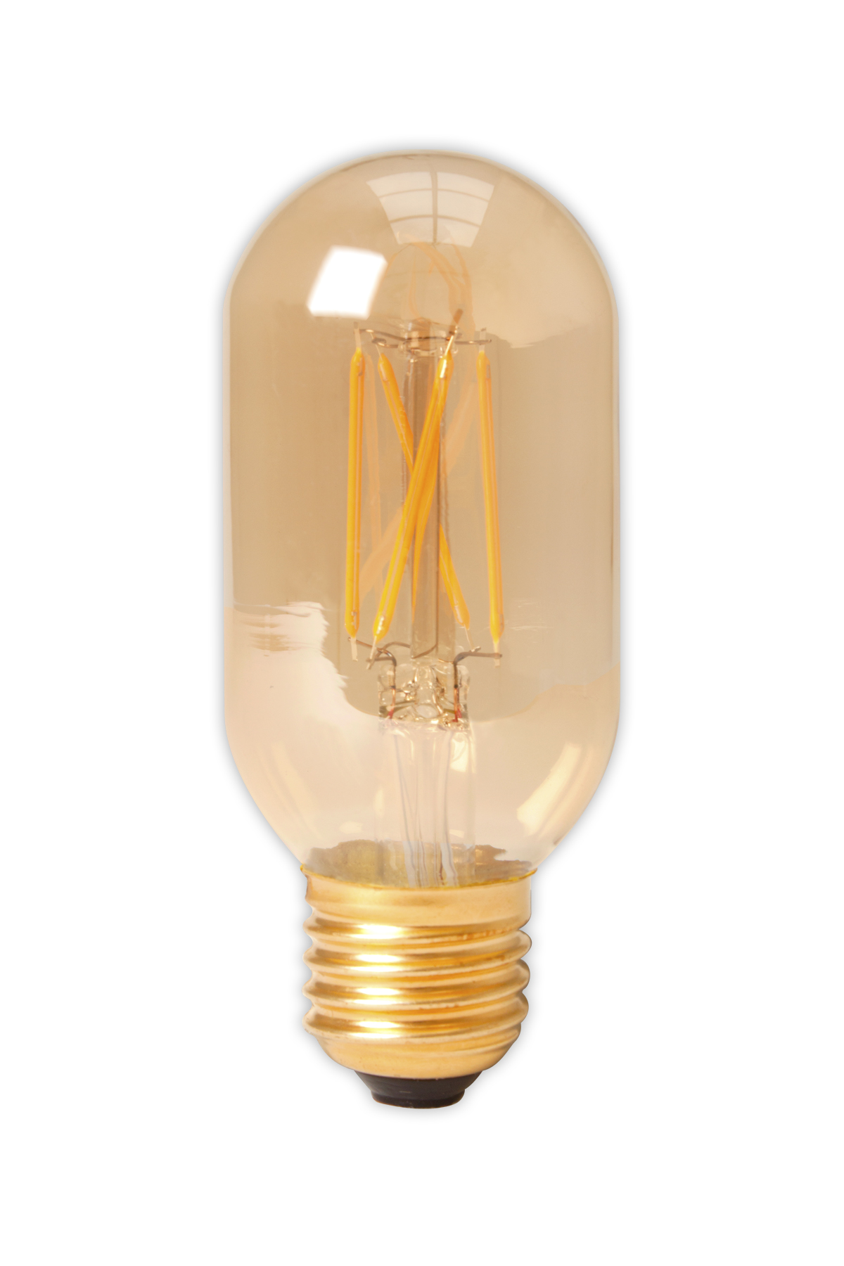 Calex buislamp LED filament 4W (vervangt 40W) grote fitting E27 45x110mm goud