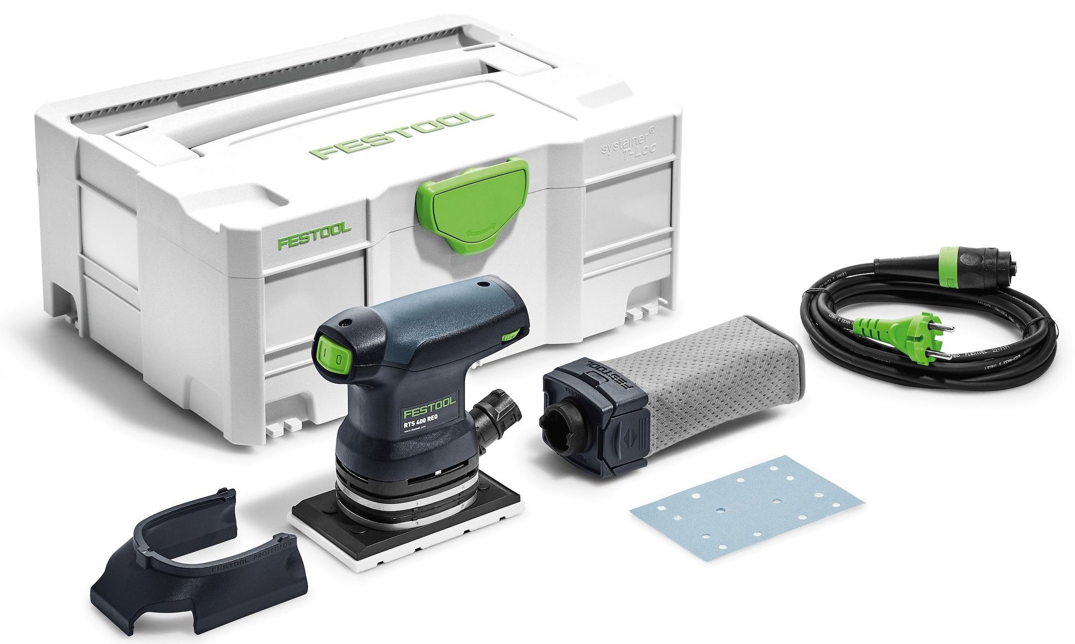 Festool rts 400 req plus vlakschuurmachine in systainer 574634