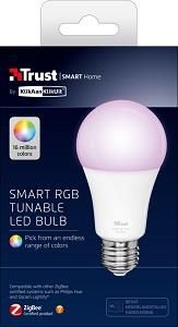 Trust Smart Home Dimbare E27 Led Lamp Kleur
