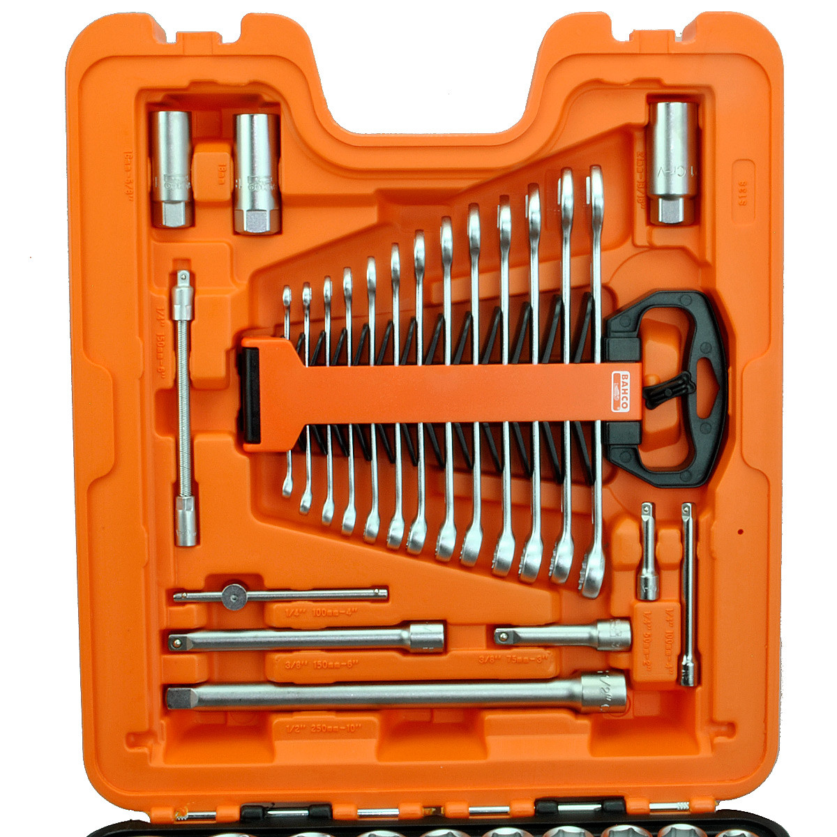 """Bahco Dopsleutelset 1/4""""-3/8""""-1/2""""  138 delig 