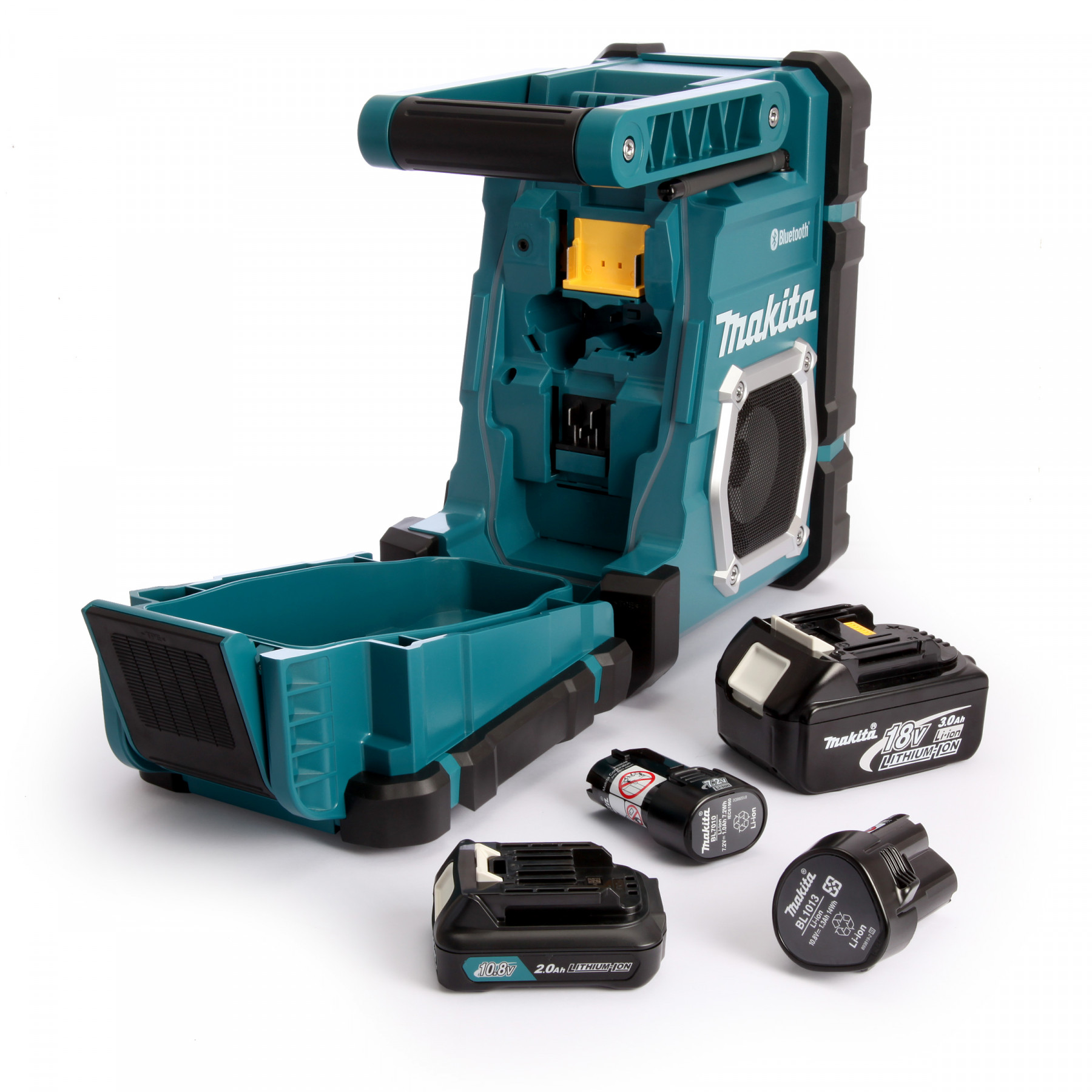 Makita dmr108 bouwradio met bluetooth toolmax - Radio makita dmr108 ...
