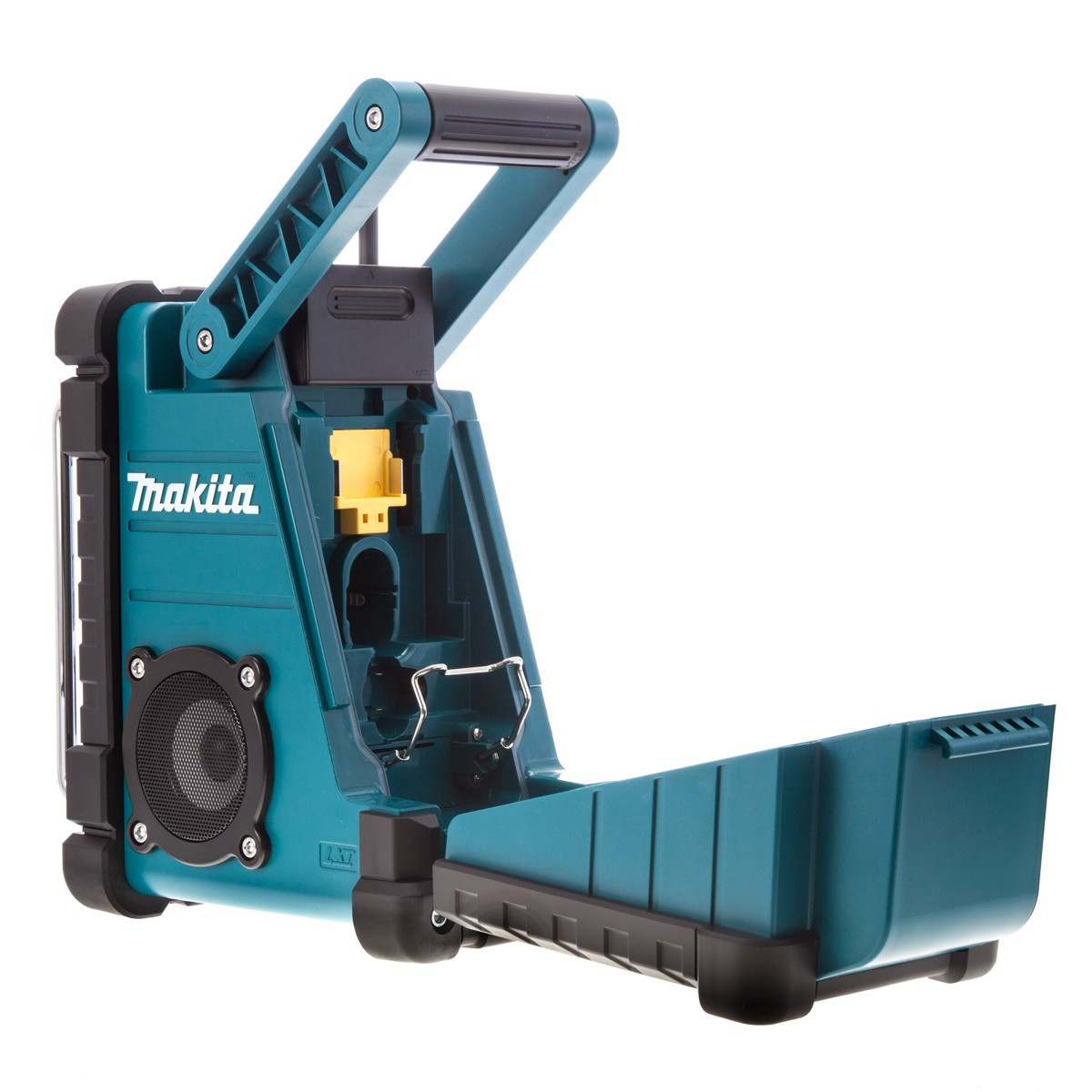 how to set alarm on makita radio