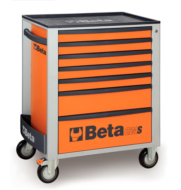 Beta C24S/7 Oranje Beta, met 7 laden