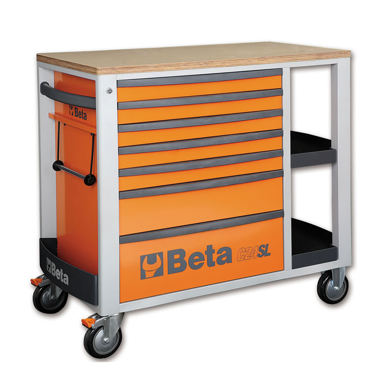 Beta C24SL Oranje Beta, met zeven laden