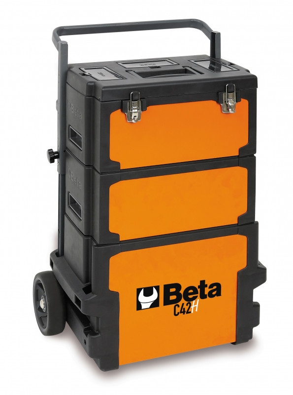 Beta C42H Trolley, drie compartementen
