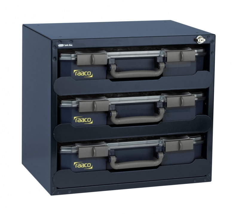 Raaco Raaco 136389 Safe Box | Carry Lite | 403 x 451 x 330 mm | Met 3 organizers