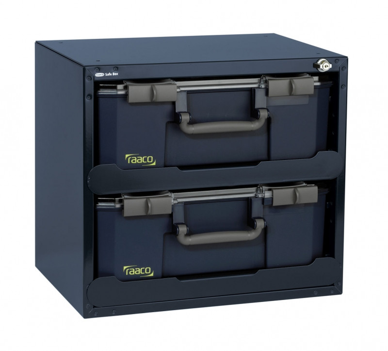 Raaco Safe Box | Carry Lite | 403 x 451 x 330 mm | Met 2 organizers - 136396