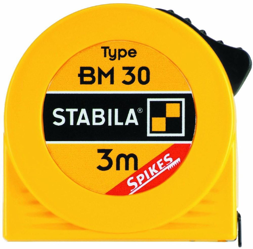 Stabila Rolbandmaat, BM 30  3m/10ft / 12,5mm