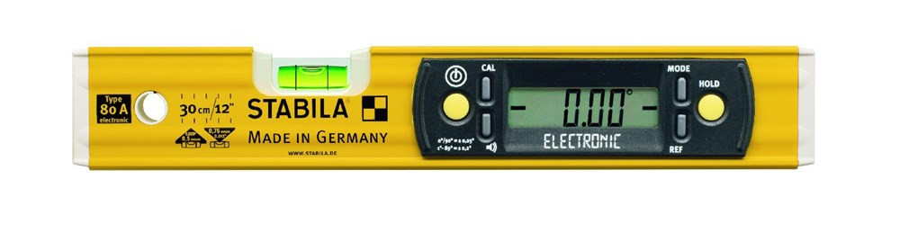 Stabila Waterpas, 80A Electronic 30 cm - 17323