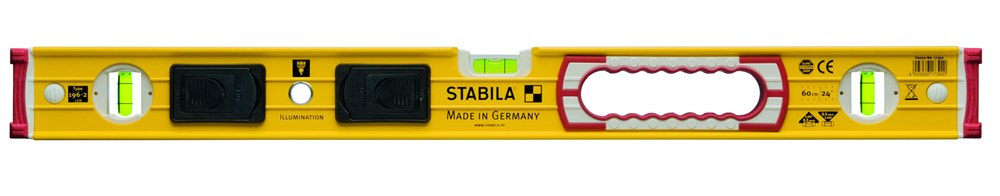 Stabila Waterpas, 196-2 LED+verlich. libel 100cm - 17393