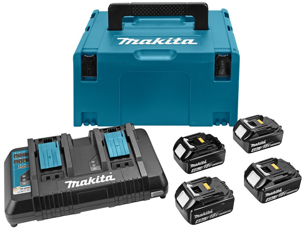 Makita Accessoires Accu laadset DC18RD/4XBL1840  - 197156-9