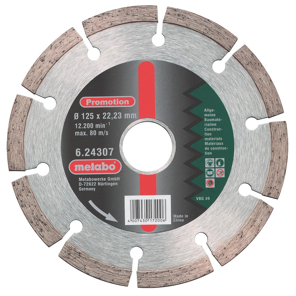 Metabo accessoires Diamantschijf Promotion Ø 180x22,23 mm - 624309000