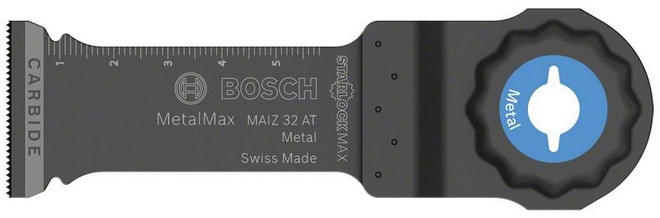 Bosch Blauw Carbide invalzaagblad MAIZ 32 AT Metal- starlock Max | 2608662567 - 2608662567