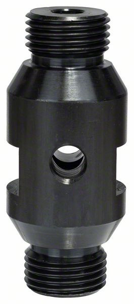 "Bosch Accessoires Adaptor diamantboorkroonG½"" (m) - G½"" (m) holds A-taper on both sides hole for ejector drift"