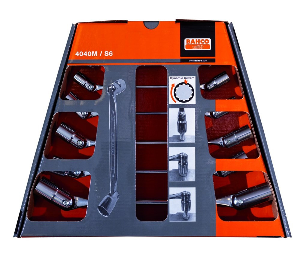 Bahco set kniesleutels 6-delig | 4040M/S6 - 4040M/S6