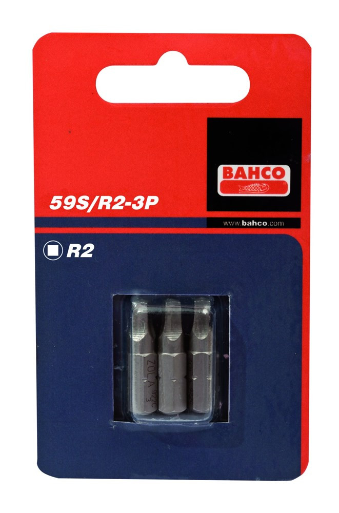 Bahco x3 bits ro2 25mm 1-4inch dr standard | 59S/R2-3P