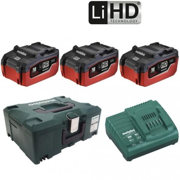 Metabo Basis-Set 3 x LiHD 5.5 Ah accu's | Pick+Mix - 685069000