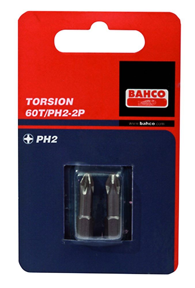 Bahco x2 bit ph3 25mm 1-4 torsion | 60T/PH3-2P - 60T/PH3-2P