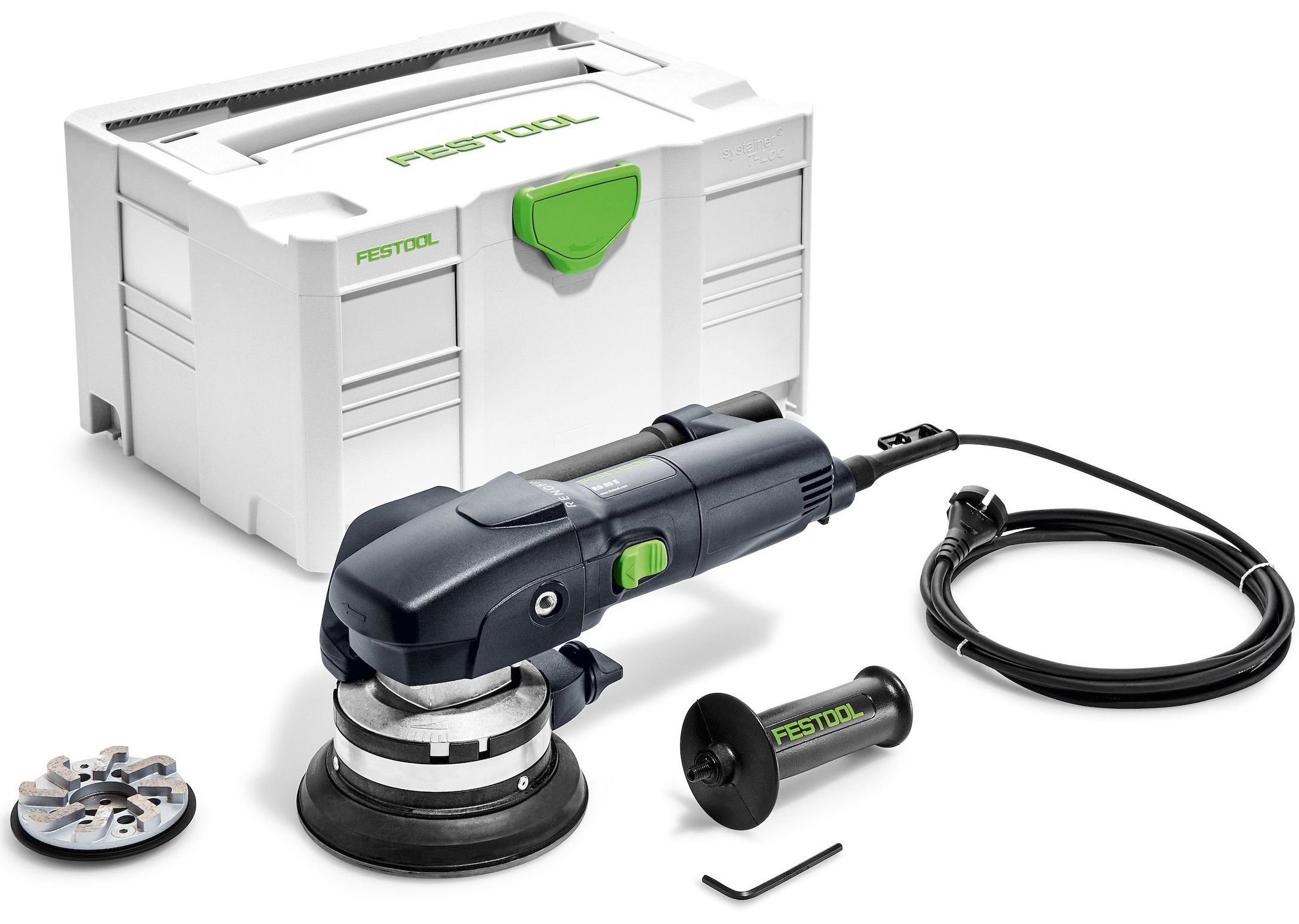 Festool RG 80 E-Set DIA HD Saneringsfreesmachine RenoFix | 80mm - 768967