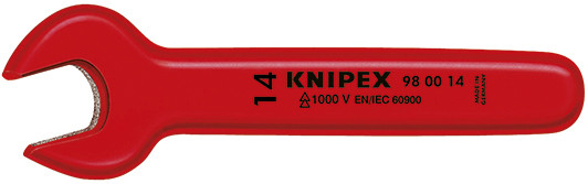 """Knipex Steeksleutel 1/4 x 125 mm VDE - 98 00 1/4"""""""