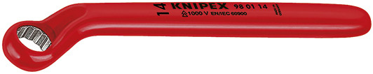 Knipex Ringsleutel 17 x 220 mm VDE - 98 01 17