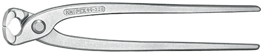 Knipex Moniertang (rabitz- en vlechtertang) vernikkeld 250 mm - 99 04 250