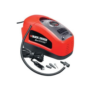 Black and Decker ASI300 Mini Compressor | 11 bar | 220-230 Volt - ASI300