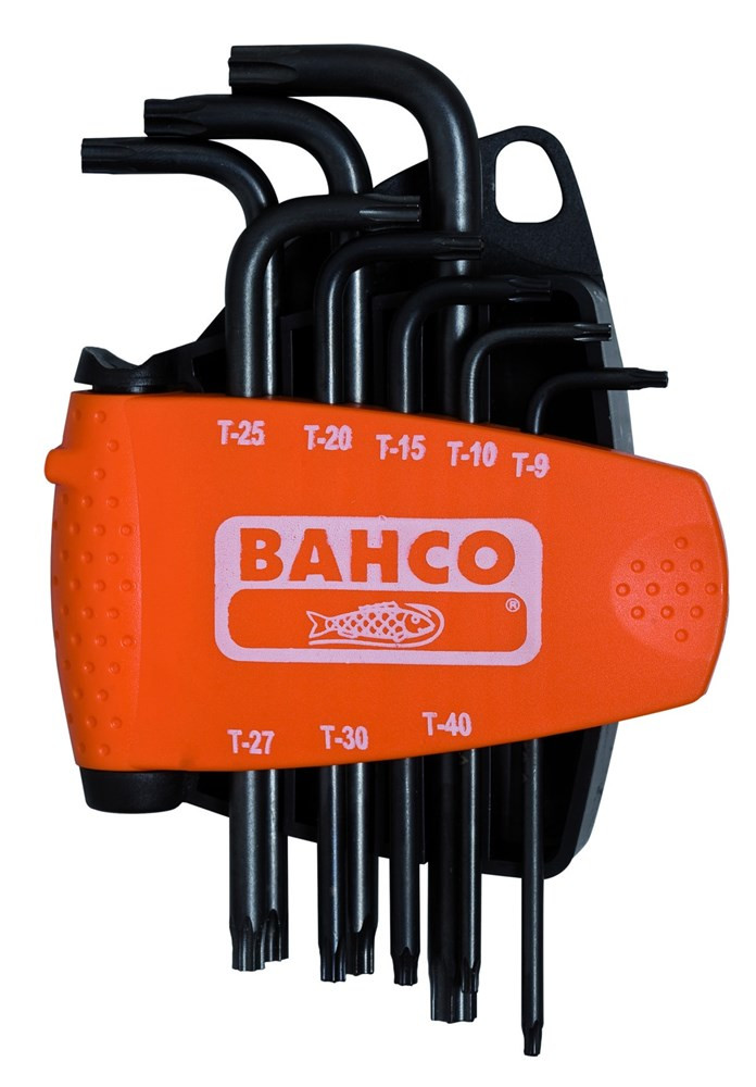 Bahco schdr set torx tamp 8-dlg | BE-8675 - BE-8675