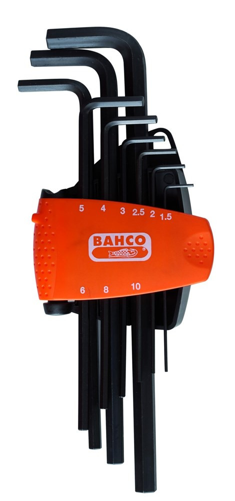 Bahco inbussleutelset lang 6-kant 6-dlg | BE-9586 - BE-9586
