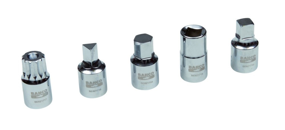 Bahco olie afvoer plug 8 mm vierkant | BE621708
