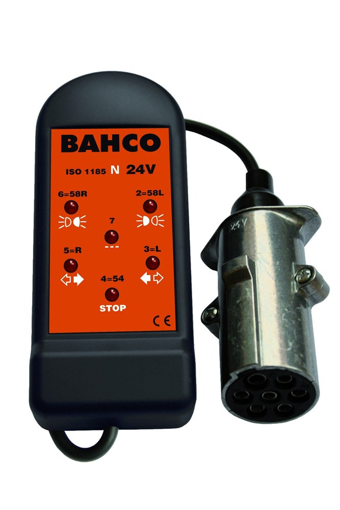 Bahco stopcontacttester 24v 7 pin inch n | BELT247N