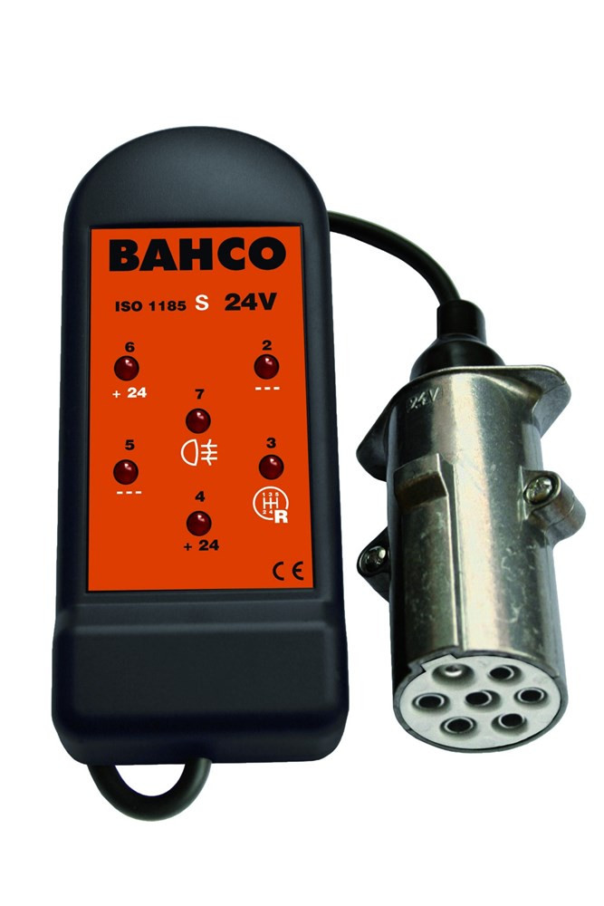Bahco stopcontacttester 24v 7 pin inch s | BELT247S