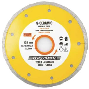 Perfectmate EPC0614 S-Ceramic Diamantschijf | Voor Tegels | 115 mm