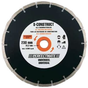 Perfectmate EPU0601 Diamantschijf | Universeel | 115 mm