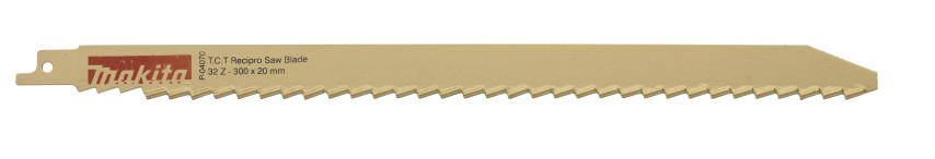 "Makita Accessoires Reciprozaagblad 265 steen S1241HM ""gold"" 300mm - P-04070"