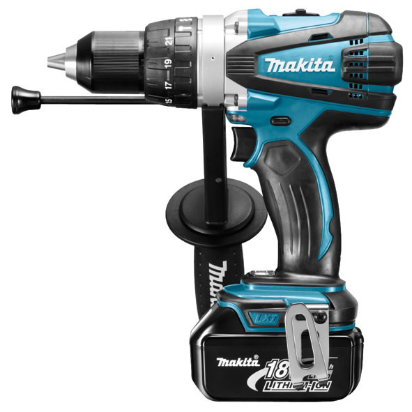 Makita BHP458RFJ Heavy Duty accu klopboormachine | 18v 3.0Ah Li-ion