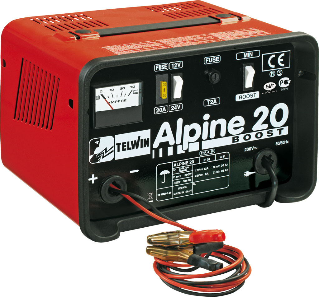 Telwin Alpine 20 Boost Draagbare electrische acculader - 591807546