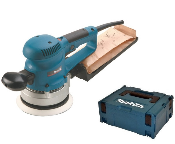 Makita BO6030JX Excenter schuurmachine| 150mm 310w | in M-box Systainer