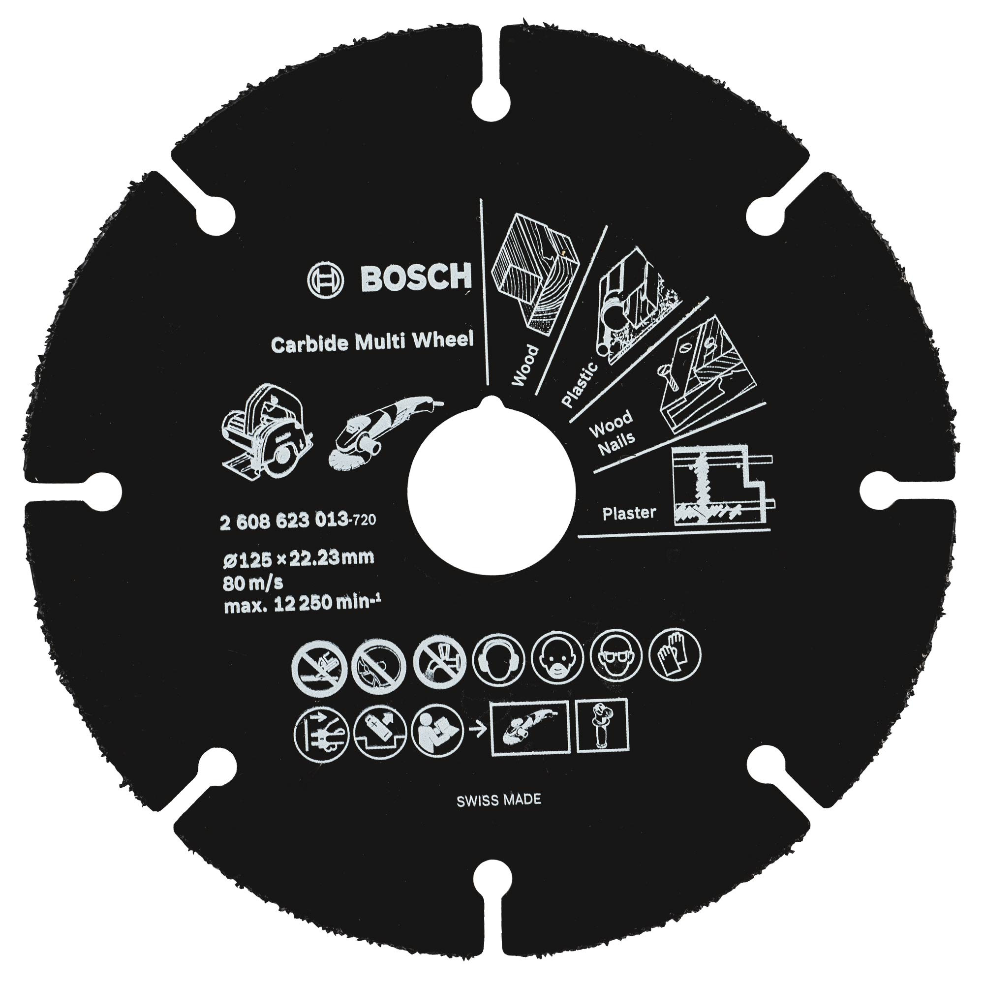 Bosch Accessoires Slijpschijf Carbide Multi Wheel , 115 - 2608623012