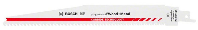 Bosch Accessoires S1156XHM Reciprozaagblad Progressor for Wood and Metal Carbide Technology