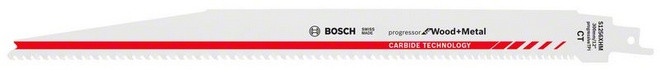 Bosch Accessoires S1256XHM Reciprozaagblad Progressor for Wood and Metal Carbide Technology