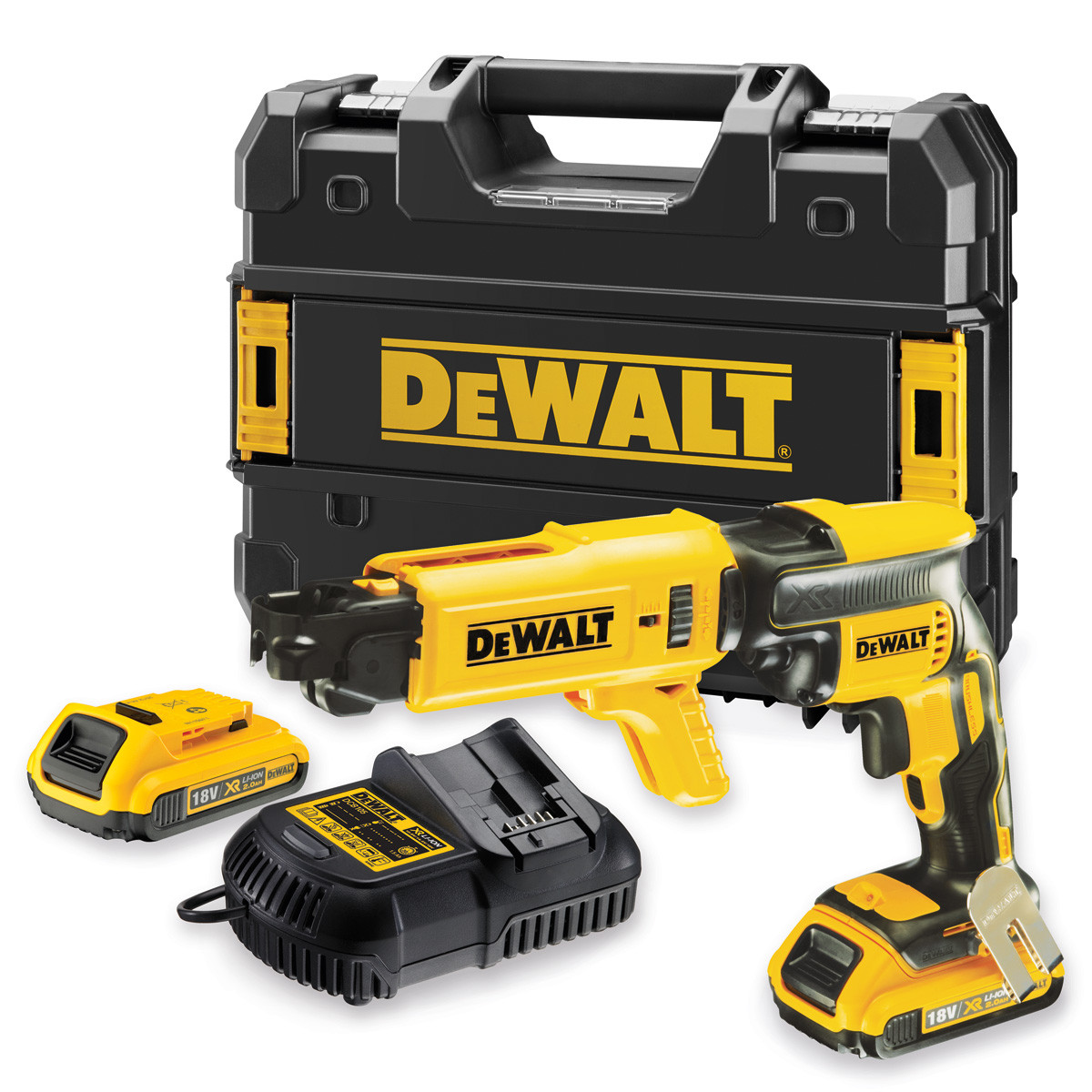 DeWalt DCF620D2K 18V XR Brushless bandschroefmachine 2,0Ah set