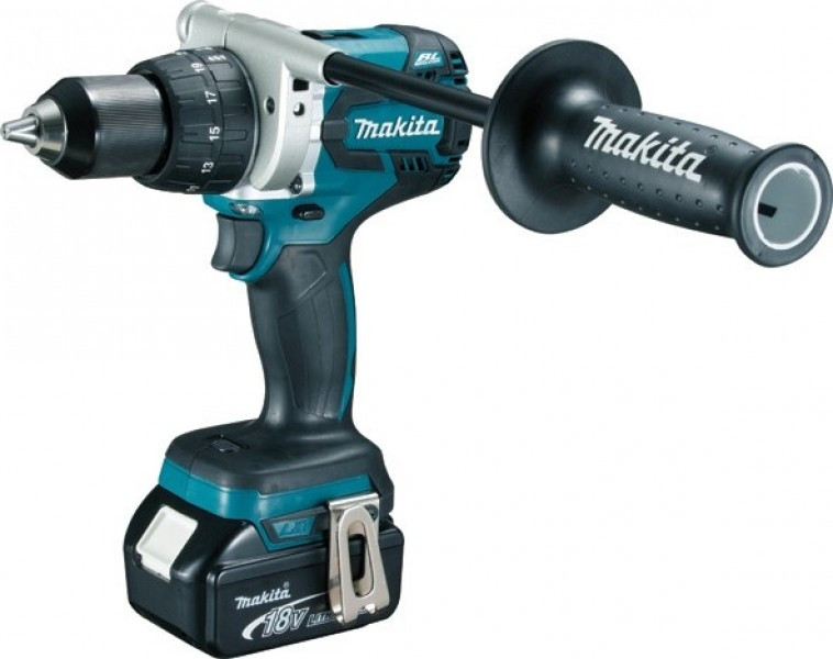 Makita DDF481RMJ Li-Ion 18V Boor-schroefmachine 4.0Ah in MBox