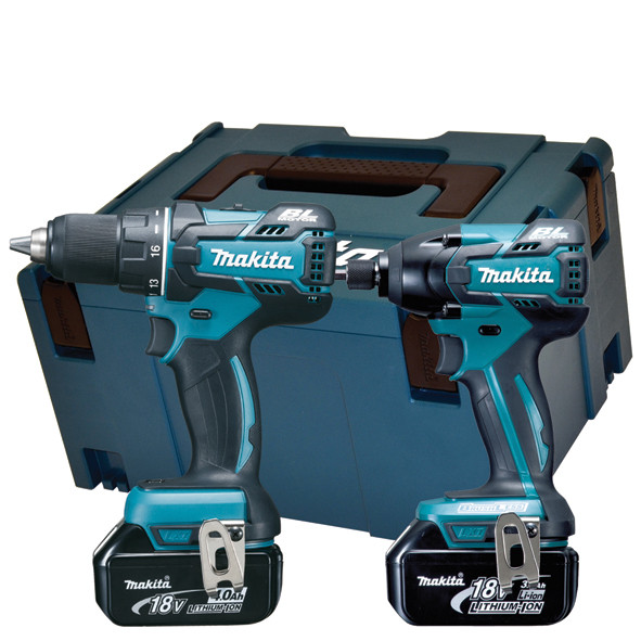 Makita DLX2000MJ | DDF480 + DTD153 | 18v 4.0Ah Li-ion in M-box