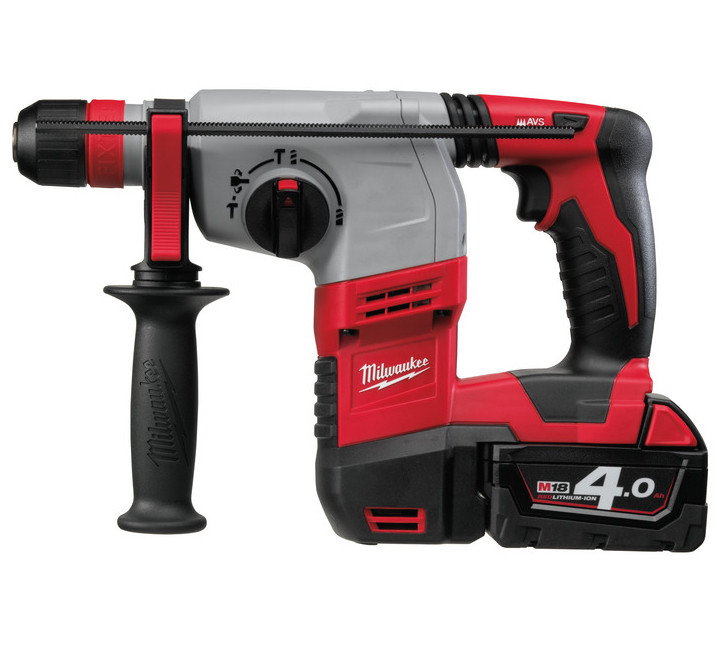 Milwaukee HD18 HX-402C Accu Boorhamer | 4.0Ah Li-ion   - 4933441280