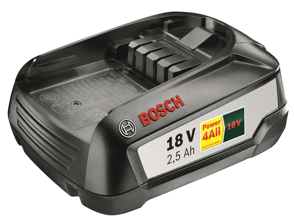 Bosch Accessoires Accu 18 Volt 2.5 Ah Li-Ion Power 4All voor diverse machines - 1600A005B0