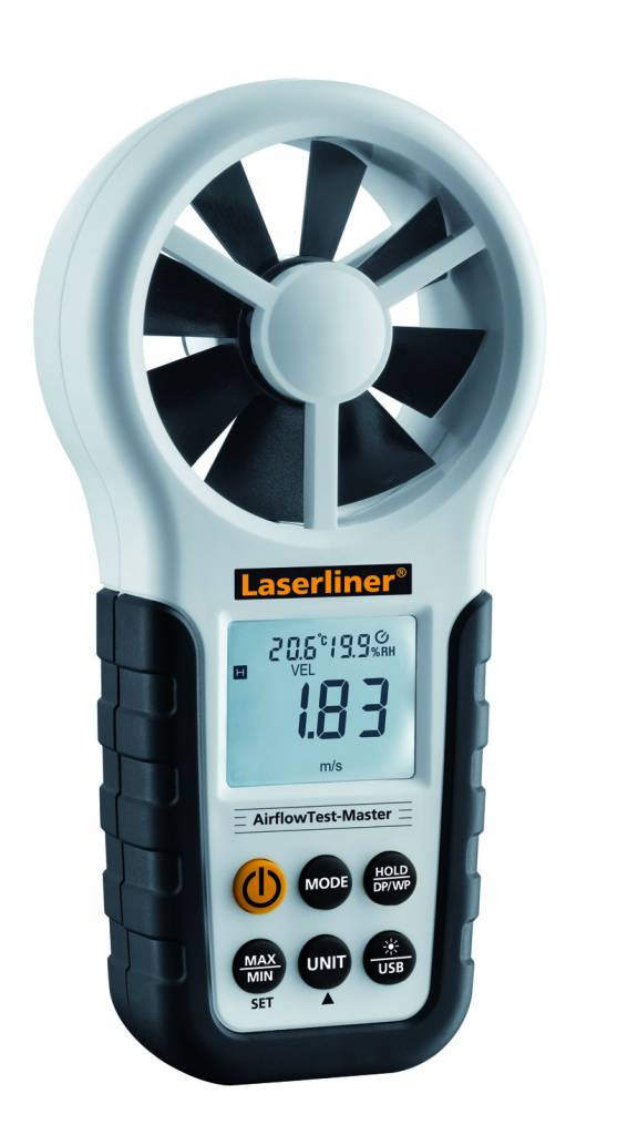 Laserliner AirflowTest-Master Luchtstroom meter - 082.140A
