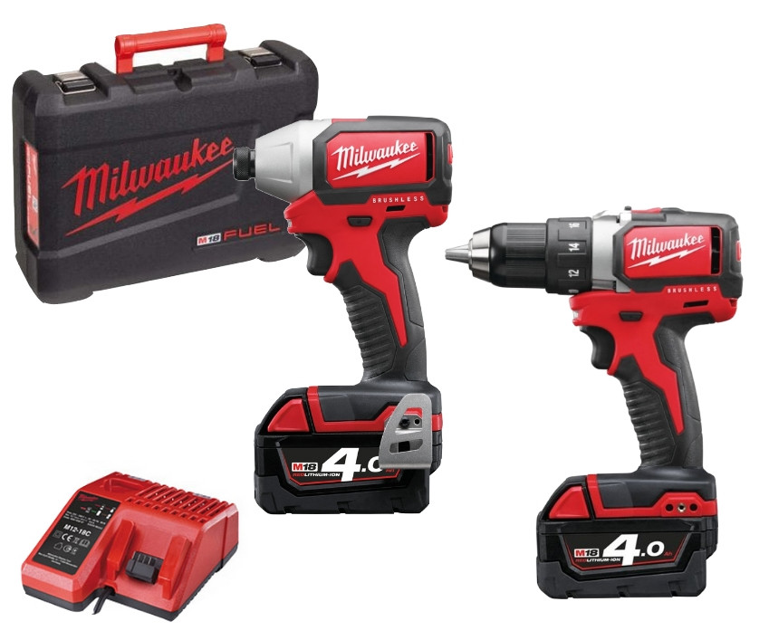 Milwaukee M18 BLPP2A-402C Fuel power Pack 18V | M18 BLDD + M18 BLID - 4933448445