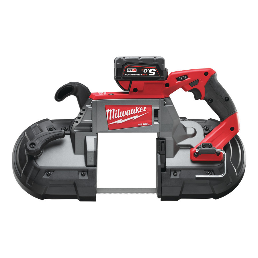 Milwaukee M18 CBS125-502C 2 (5.0Ah) Bandzaagmachine - 4933448195
